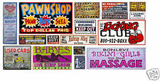 HO Scale Skid Row Structure/Building Decals #7