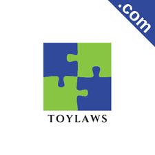 TOYLAWS.com 7 Letter Premium Short .Com Catchy Brandable Domain Name