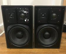 Klein + Hummel Model 098 Professional Studio Monitor Speakers (2) 3 Way/powered