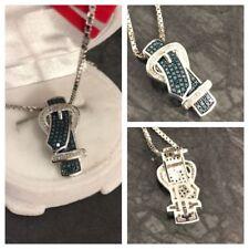 Markenlose Echtschmuck-Halsketten & -Anhänger für besondere Anlässe-Diamant