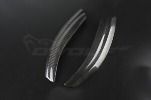 Real Carbon Fiber Eye Brow Lid Eyelid Headlight for Saab 9-3 Pre-facelift 02 07
