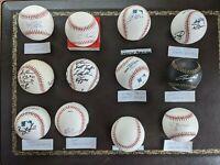12 Autographed Atlanta Braves Official Rawlings Major League Baseballs Unused