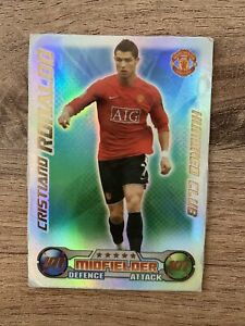 Christiano Ronaldo Match Attack Card 08/09