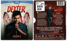 DEXTER - Intégrale saison 6 - Blu-ray - Coffret  2 boitiers - 4 Blu-ray - NEUF
