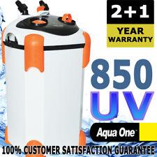 Aqua One Ocellaris External Aquarium Fish Canister Filter 850UV 2 + 1 WARRANTY