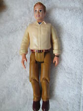 FISHER PRICE Loving Family Dollhouse DAD MAN FATHER Cream Shirt & Brown Pants