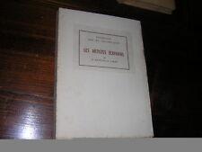 1921.artistes écrivains / Ratouis de Limay.bon ex.art