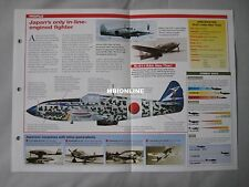 Aircraft of the World - Kawasaki Ki-61 Hien 'Tony'