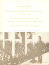 #1114-C1 First Day Ceremony Program 3c Lincoln Sesquicentennial w/FDC