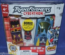 Transformers Cybertron Hot Shot with Mirage RID New Factory Sealed