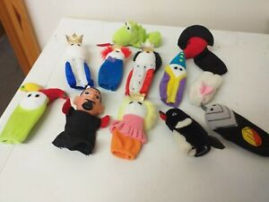 LOVELY TOYS...PLUSH...FINGER PUPPETS...LOT OF...YOUNGER CHILD..TOYS...