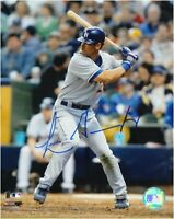 Luis Gonzalez Hand Signed Autographed 8x10 Photo Los Angeles Dodgers w/ COA