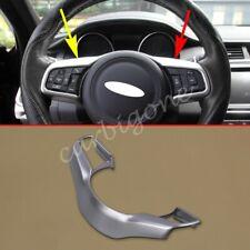 Matte Chrome Steering Wheel Button Switch Cover Trim For Jaguar E-Pace 2018-2020