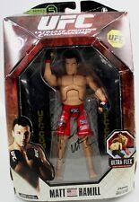 UFC COLLECTION UFC '96 SERIES 5 AUTOGRAPHED MATT HAMILL ACTION FIGURE