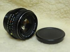 SMC Pentax-M 50mm f1.7 Fast Standard Prime Lens + FILTER + CAP