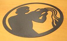 segno zodiacale simbolo acquario in lamiera ferro taglio laser idea regalo