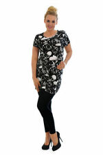 Gothic Viscose Short Sleeve Tops & Shirts for Women