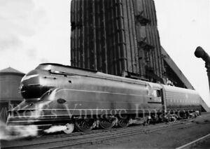 Pennsylvania Railroad Photo PRR 3768 Steam Locomotive Pacific 4-6-2 train Coal
