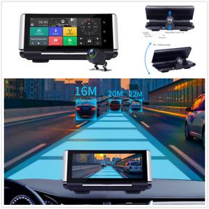 FHD 1080P Dual Cameras Car DVR Dash Cam Video Recorder ADAS G-Sensor GPS WIFI 4G