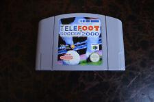 Jeu rare Telefoot Soccer 2000 - Nintendo 64 - Cartouche Seule