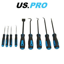 US PRO 9pc Heavy Duty Pick & Hook Set - Scraper & Hook Set 5035