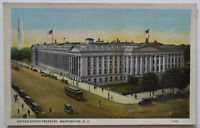 Washington DC Postcard Treasury Building 1926