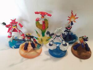 Dynamic Super Robot Action Diorama Trading Figures Mazinger Getter Grendizer