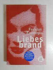 Feridun Zaimoglu Liebesbrand Roman Fischer Verlag