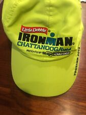 Little Debbie Ironman Chattanooga Finisher Hat - 2016 Lime Green Euc