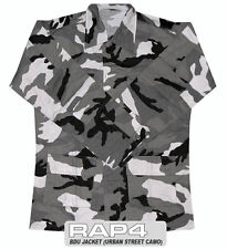 New RAP4 Paintball BDU Playing Jersey Jacket - Urban Street Camo - Small