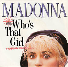 "Madonna ‎7"" Who's That Girl - France"