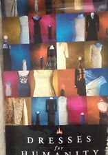 Princess Diana Dresses For Humanity Large Poster From Exhibition 1997-98