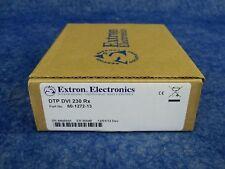 New! Extron Dtp Dvi 4K 230 Rx / 60-1272-13 / Dtp Receiver for Dvi
