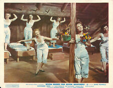 Seven Brides for 7 Brothers Original British Lobby Card Jane Powell Julie Newmar