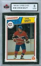 Steve Shutt Graded 1983-84 OPC 83 NHL CARD #198 KSA 8
