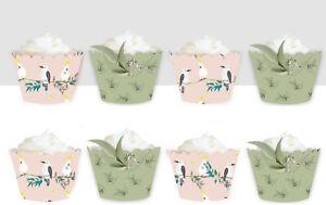 Australia Day Animals koala Birthday Party Wraps Cupcake Cases Cake Wrappers