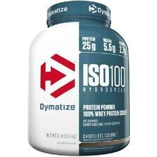Dymatize ISO 100 Hydrolyzed 100% Whey Protein Isolate Powder, Chocolate Coconut,