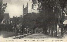 Fairhaven MA Green St. c1905 Postcard