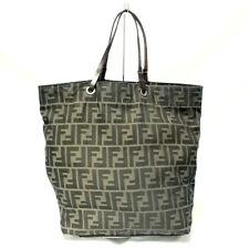 Fendi Zucca Bag Handbag Purse Tote