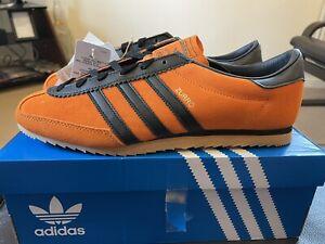 Adidas  Zurro  size? Exclusive  Uk Size 10 Orange/Black Bnibwt