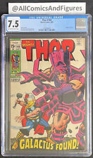 Thor #168 CGC 7.5 OW-WHITE Pages! Origin of Galactus! INVEST NOW!