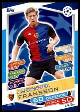 Match Attax Champions League 16/17 Alexander Fransson Basel No. BSL9