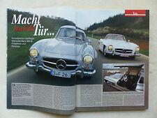 Mercedes-Benz 300 SL Flügeltürer - Titelstory - Oldtimer Markt Heft 6/2000