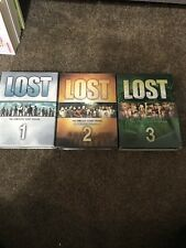 LOST TV Series Complete DVD Set Seasons 1-3 series set 1,2, and 3