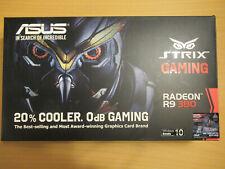 Asus Strix R9 380 DirectCU II Grafikkarte 4GB, 2-Slot, PCIe 3.0 x16, 4K, DP, HD.