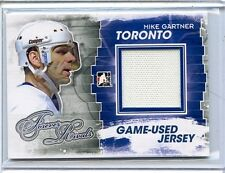 2012/13 ITG FOREVER RIVALS MIKE GARTNER GAME/USED MATERIAL