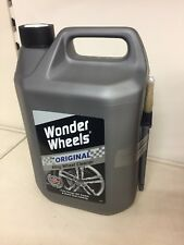 WONDER WHEELS ORIGINAL ALLOY CLEANER 5 LITRES & BRUSH WWC005 NEW & IN STOCK