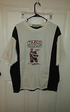 Looney Tunes Tazco Gas Co. Embroidered s/s  Shirt sz Large 100% Cotton B66