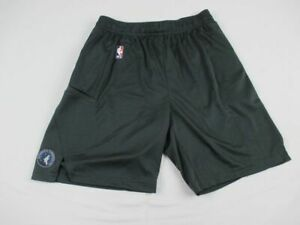 Minnesota Timberwolves Nike Shorts Men's Gray Dri-Fit New Multiple Sizes