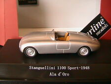 STANGUELLINI 1100 SPORT SILBER 1948 ALL D'ORO STARLINE 159444 1/43 SILVER ARGENT